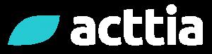 logo ACTTIA negativo